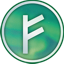 Auroracoin (AUR) Cryptocurrency Logo