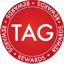 Tagcoin (TAG) Cryptocurrency Logo