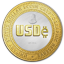 USDe (USDE) Cryptocurrency Logo